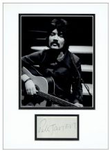 Peter Sarstedt Autograph Signed Display